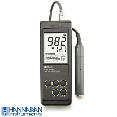 EC متر پرتابل HI9033