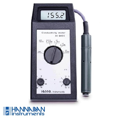 EC و TDS متر پرتابل HI8033