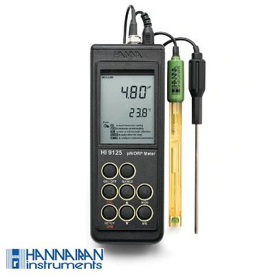 pH متر پرتابل HI9125
