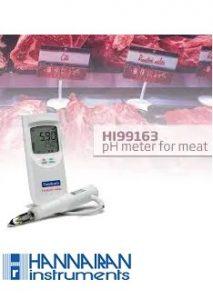 pH متر پرتابل گوشت HI99163