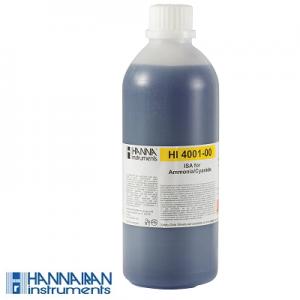 محلول ISE آمونیا و سیانید HI4001-00