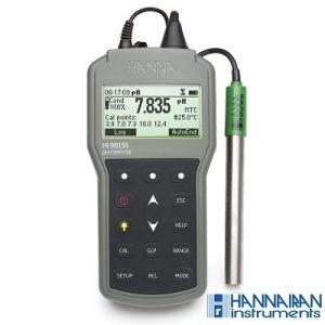 pH متر پرتابل HI98191
