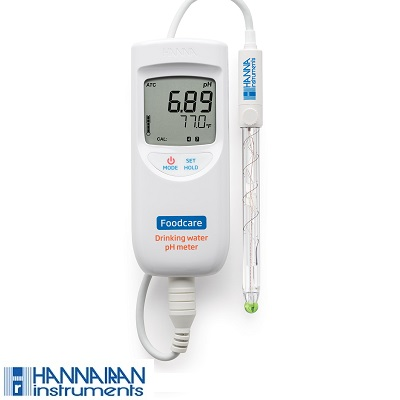 پی اچ متر پرتابل آب آشامیدنی مدل HI99192