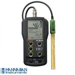 pH متر پرتابل HI8314