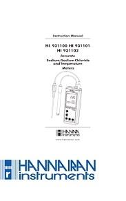 قیمت و خرید ISE متر و شوری سنج HI931102