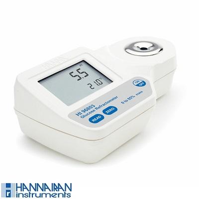 قیمت و خرید رفرکتومتر دیجیتال گلوکز HI96803 HANNA